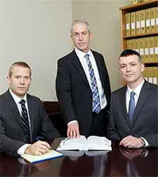 The team at Vancouver law firm Z. Philip Wiseman Law Corporation